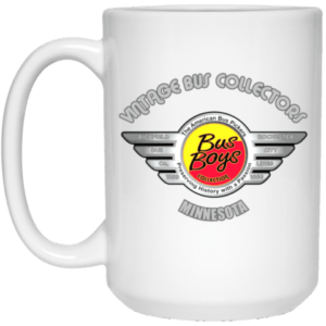 Busboys Collection 21504 15 oz. White Mug