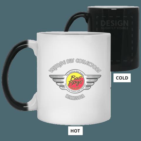 Busboys collection 21150 11 oz. Color changing mug